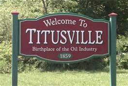 Titusvillesign